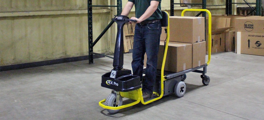 Dex Warehouse Standing Platform Cart