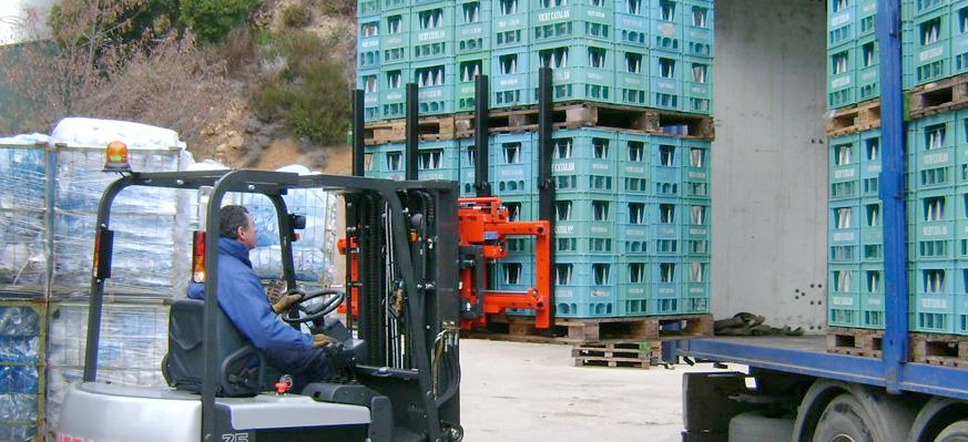 bolzoni forklift attachments
