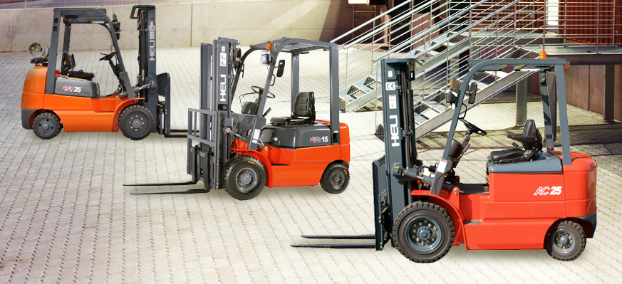 heli forklifts