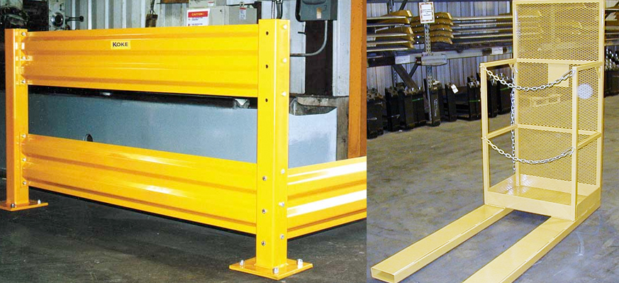 koke warehouse equipment