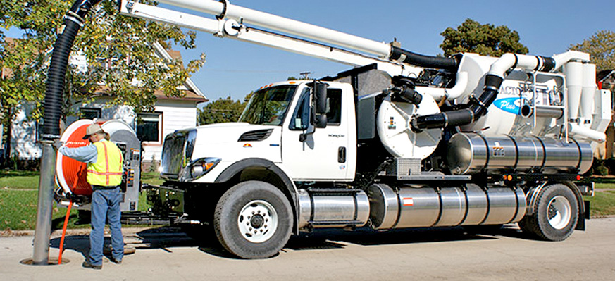 vactor sewer cleaning
